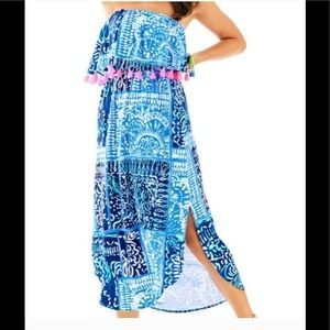"Lilly pulitzer meridian midi dress ""leied back"""